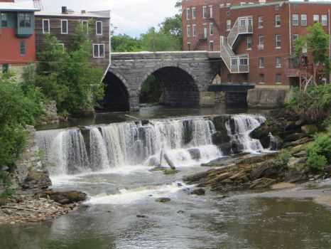 Middlebury, VT Waterfall
