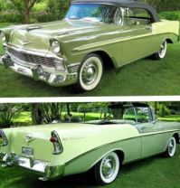 1956 Chevy Bel - Air convertible!  Bandit...