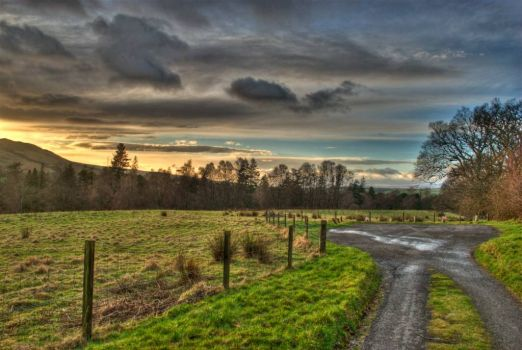 Scottish Countryside - HDR
