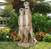 Theme:  Lawn Ornaments - For Sue - Meercats by Design Toscano