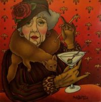Shelly Bedsaul Artwork - 'Dirty Martini'