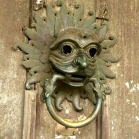 Sanctuary Knocker, Durham Cathedral, England