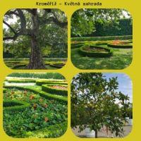 Kroměříž - Květná zahrada  / Flower Garden - Collage