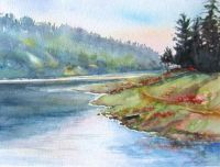 Morning on the Lake by jt1227 on etsy