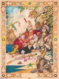 The-Arabian-Nights  Julnar-the-Sea-Born