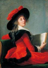 Vigée Le Brun, Baronne de Crussol 1785
