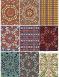 Mosaic tile collage
