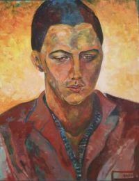 Jonathan  ( Acrylics on canvas. )