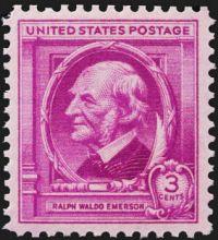Ralph Waldo Emerson Postage Stamp - 1940