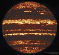 """Jupiter in Infrared from Gemini"""