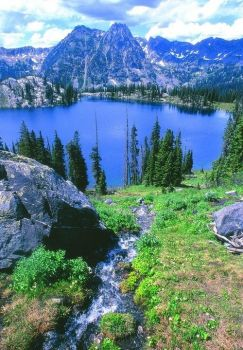 Blue Lake, Steamboat Springs, Colorado  USA