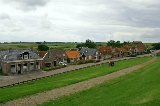 Friesland, towns and villages, Moddergat