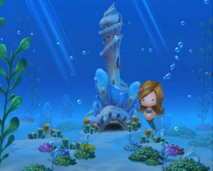 Tiki mermaid 1
