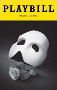 Phantom of the Opera Playbill!
