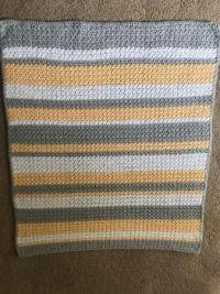 Stripey Baby Blanket