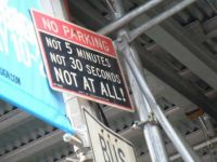No Parking in NYC!
