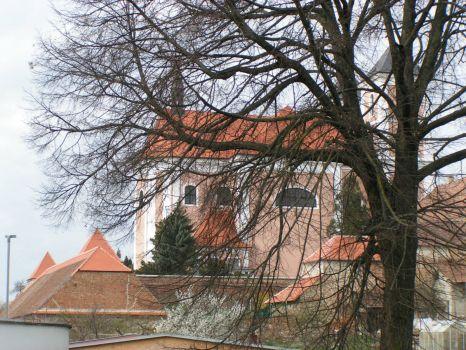 kostel Nanebevzetí Panny Marie v Pozořicích