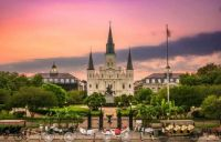 St Louis Cathedral, New Orleans, Louisiana, USA