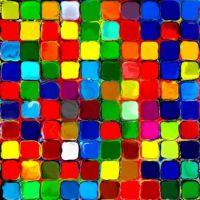 Farbklekse 100