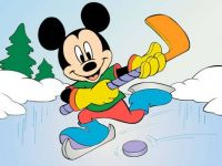 ice hockey mickey