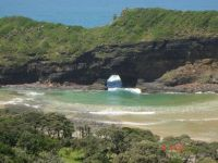 Hole-in-the-wall Transkei South Africa