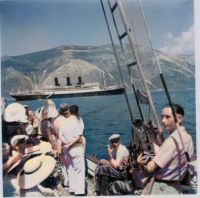 Messageries Maritimes' PROVIDENCE during a cruise at Ithaki in 1932