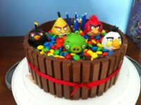 Gavin's Birthday Seventh Birthday Cake