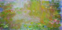 Claude Monet - Water Lily Pond, 1917 (Mar17P99)