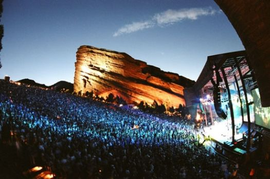 Red Rocks - in action!
