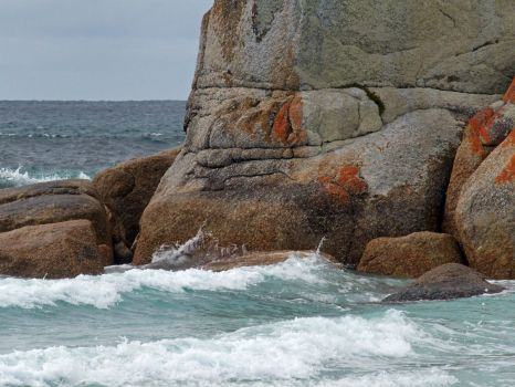 Picnic Rocks, Northern east coast of Tasmania