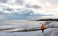 Tynemouth Beach Tyne and Wear UK