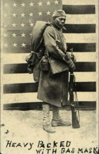 African American soldier WWI