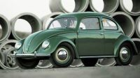 Old Beetle with semaphore