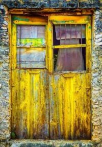 Old Yellow Doors