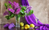 Lilacs and Pears.....