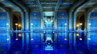 Indoor pool at Hearst Mansion in California