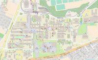 EPFL Campus Map