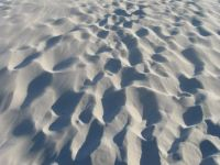 Light-gray sands of Rena Majore, Sardinia