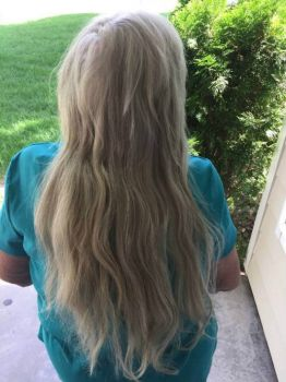 Theme -   Long hair  September 4, 2018