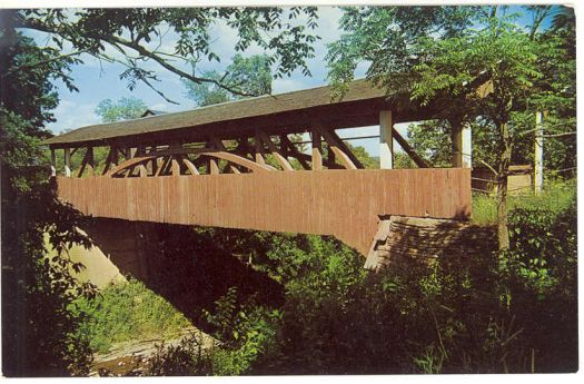 Theme:  Home - Luthers Mills Covered Bridge, NE Pennsylvania