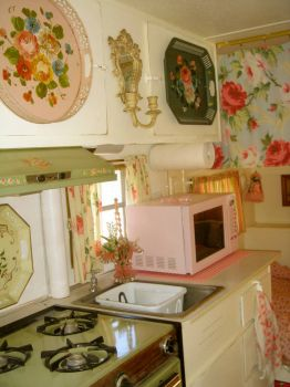 Gypsy Caravan Kitchen!