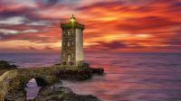 Bretagne le Conquet Kermorvan lighthouse