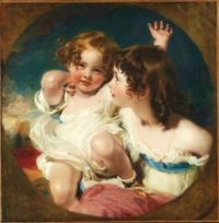 THE CALMADY CHILDREN, 1823