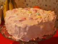 Valentine Cake Side View