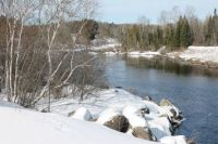 Madawaska River , Whitney On.