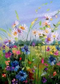 Darchuk: Field with Flowers