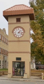 Cherokee Co. Courthouse--The Little Clock Tower