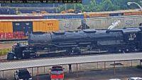 """steamer"" UP-4014 arriving Texarkana,AR/USA 45-pc"