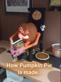 How Pumpkin Pie is made...