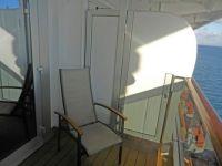 (9) Sun deck on our ship cabin, Caribbean trip 2018